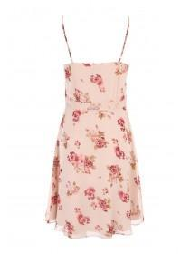 Womens Floral Strappy Dress