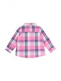 Baby Girls Pink Check Shirt