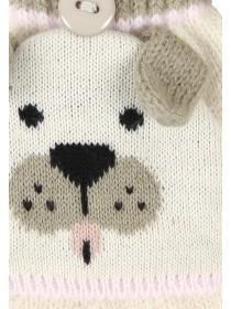 Older Girls Popover Pug Gloves