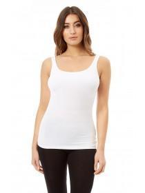 Jane Norman White Bust Support Vest