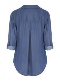Womens Mid Blue Shirt