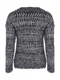 Womens Pom Feather Jumper