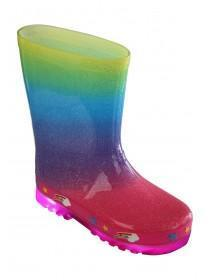Younger Girls Light Up Wellies