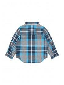 Baby Boys Blue Check Shirt