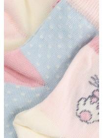 Baby Girls 3PK Pink Socks