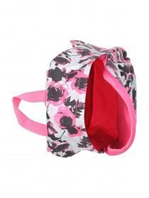 Older Girls Pink Floral Backpack