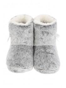 Girls Fur Slipper Boots