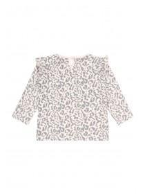 Baby Girls Pink Leopard Print T-Shirt