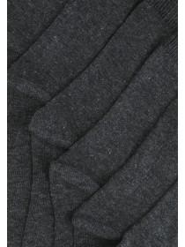 Boys 7PK Basic Grey Socks