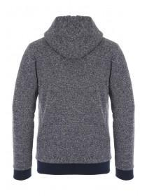 Mens Textured Sherpa Hoody