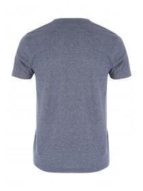Mens Blue Grindle Slogan T-Shirt