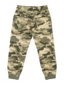 Younger Boys Camo Pull On Trouser