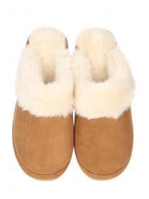 Womens Fluffy Mule Slipper