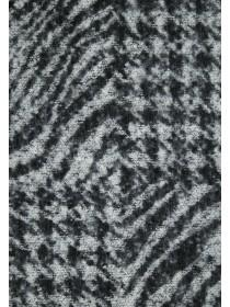 Womens Monochrome Animal Print Scarf