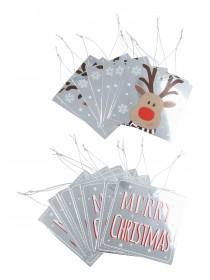 Foil Reindeer Gift Tags