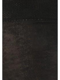 Womens Black 2pk Over the Knee Socks