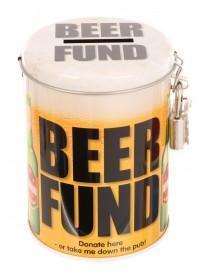 Novelty Beer Fund Tin