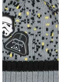Older Boys Grey Star Wars Beanie Hat