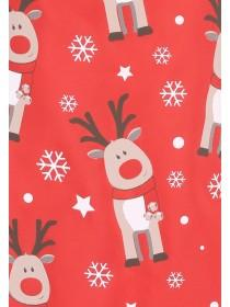 Red Reindeer Apron