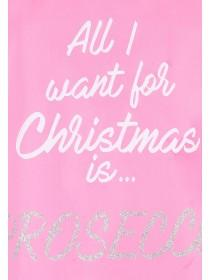 Make sure you're all set for your Christmas day with this fabulous pink Prosecco slogan apron! Let the party begin!