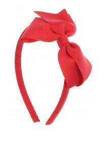 Girls Red Bow Hairband