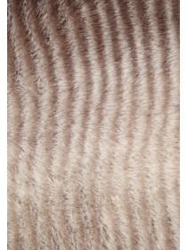 Womens Brown Faux Fur Snood