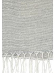 Womens Grey Diamond Print Scarf