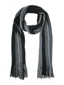 Mens Monochrome Scarf and Glove Set
