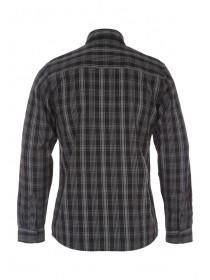 Mens Black Long Sleeve Grindle Check Shirt