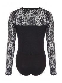 Jane Norman Black lace bodysuit