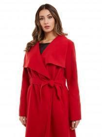 Jane Norman Red Wrap Coat