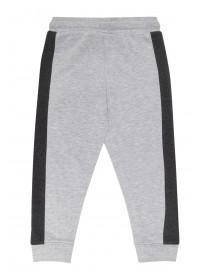 Younger Boys Grey Panel Joggers