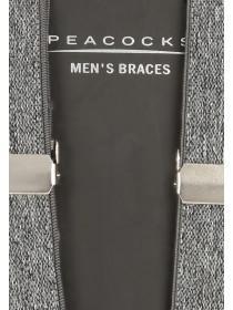 Mens Grey Braces