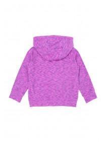 Younger Girls Purple Hoody