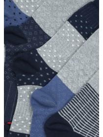 Mens 5pk Blue Socks