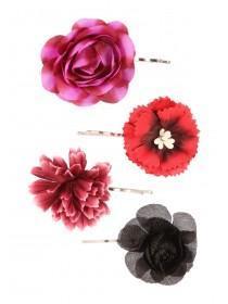 Womens Floral Slides