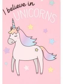 Pink Unicorn Paddle Brush