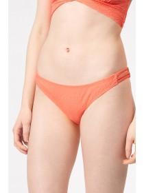 Jane Norman Peach Bar Detail Bikini Brief