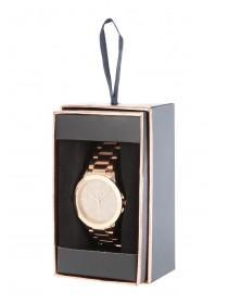 Womens Gold Shimmer Dial Watch