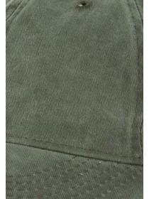 Mens Khaki Washed Stock Cap