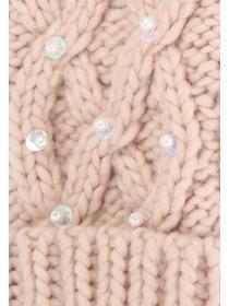 Older Girls Pink Pearl Gloves