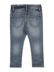 Younger Boys Blue Graffiti Jeans