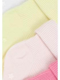Baby Girls 5pk Socks