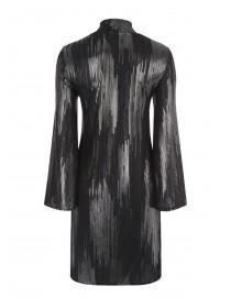 Womens Envy Foil Swing Dress