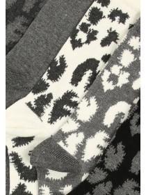 Womens Grey 5pk Socks