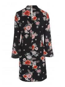 Womens Floral Choker Dress