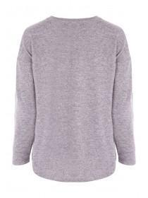 Womens Lilac Cosy Top