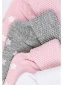 Baby Girls 5pk Plain Socks