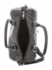 Womens Black Jacqui Bowler Bag