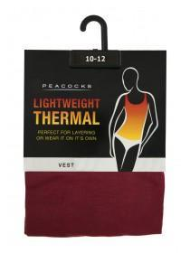 Womens Red Thermal Vest